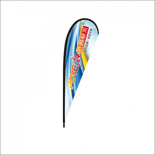Trade Show outdoor Teardrop Flags banners