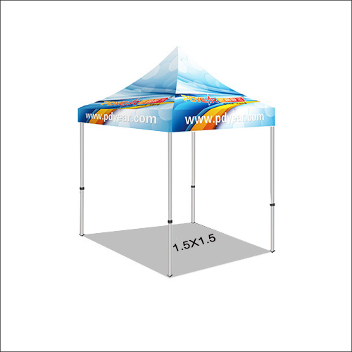 1.5x1.5 Exhibition outdoor full color printing Canopy Tents